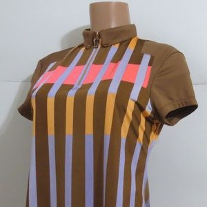 ⭐For Bundles Only⭐jamie sadock Golf Top Striped S